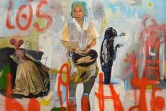 Contenedor de sueños y  recuerdos, oil on canvas