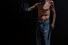 Viejo Lobo, 80x90 cm, oil on canvas