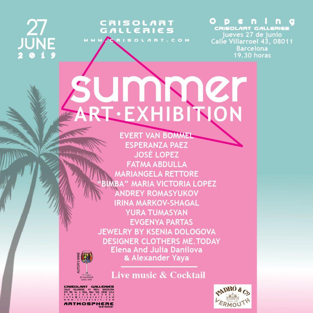 Barcelona Exhibition – Crisolart Galleries